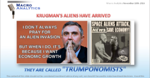 """KRUGMAN'S ALIENS HAVE ARRIVED – THEY ARE CALLED """"TRUMPONOMISTS"""""""