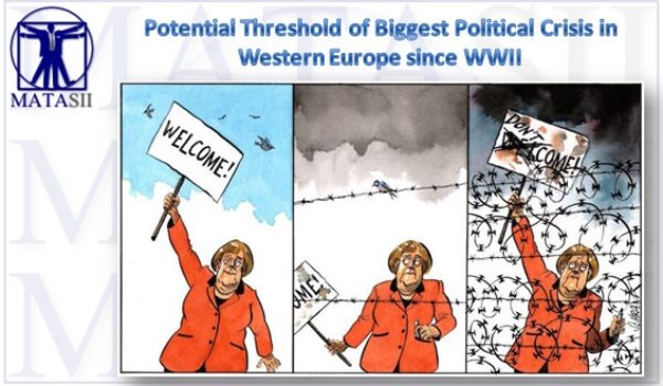 WE ARE POTENTIALLY ON THE THRESHOLD OF THE BIGGEST POLITICAL CRISIS IN WESTERN EUROPE SINCE WWII!