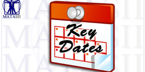 KEY DATES – OCTOBER 2019