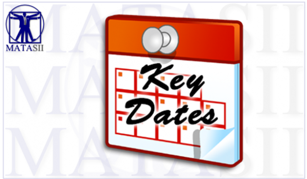 KEY DATES – JUNE 2019