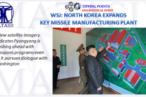 07-02-18-MACRO-GLOBAL RISK-SIGNALS-TENSIONS-North Korea Expands Key Missile Manufacturing Plant-1