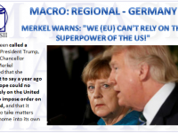 08-22-18-MACRO-REGIONAL-GERMANY- Merkel Warns EU Can't Rely on US-1