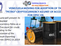 11-13-18-TP-DE-DOLLARIZATION-Venezuela Moving For Adoption of Petro Cryptocurrency as Unit of Account for OPEC Oil-1