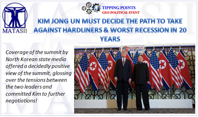03-02-19-TP-GEO-POLITICAL EVENT-Kim Jong Um Must Decide the Path-1