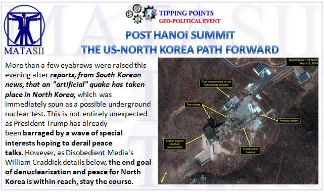 03-08-19-TP-GEO-POLITICAL EVENT--US-North Korea Path Forward-1