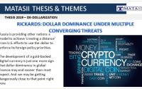 04-19-19-THESIS 2019 - DE-DOLLARIZATION - Dollar Dominance Under Multiple Convergence Threats-1