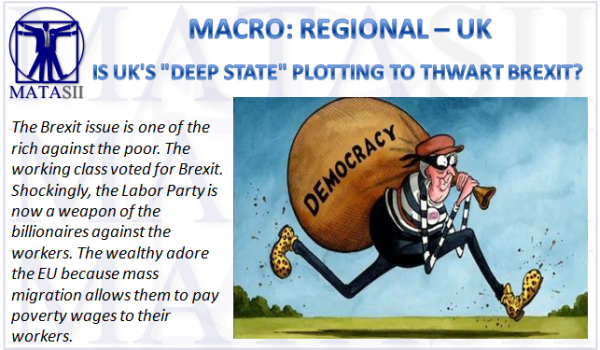 "IS UK'S ""DEEP STATE"" PLOTTING TO THWART BREXIT?"