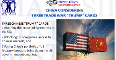 05-29-19-TP-GEO-POLITICAL EVENT--China Considering Three Trade War Trump Cards-1