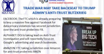 06-04-19-TP-STOCK MARKET VALUATIONS - Trade WQar May Take Backseat to Trumps Anti-Trust Blitzkrieg-1