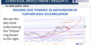 HOLDING OUR 'POWDER' IN ANTICIPATION OF FURTHER GOLD ACCUMULATION