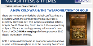 """A NEW COLD WAR & THE """"WEAPONIZATION"""" OF GOLD"""