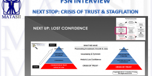 NEXT STOP: CRISIS OF TRUST & STAGFLATION
