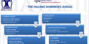 THE FALLING DOMINOES AHEAD