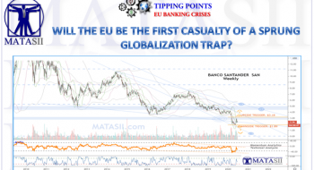 WILL THE EU BE THE FIRST CASUALTY OF A SPRUNG GLOBALIZATION TRAP?
