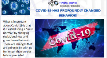 COVID-19 HAS PROFOUNDLY CHANGED BEHAVIOR!