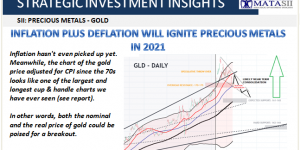 INFLATION PLUS DEFLATION WILL IGNITE PRECIOUS METALS IN 2021