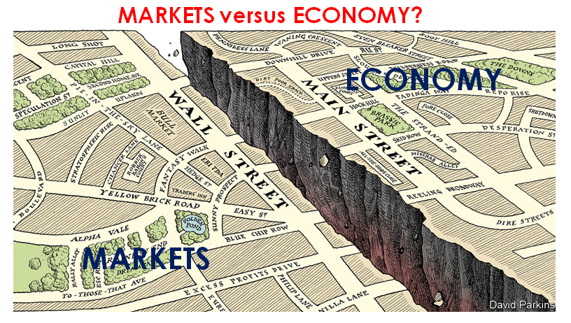 10-28-20-UnderTheLens-November-Markets versus Economy - Cover