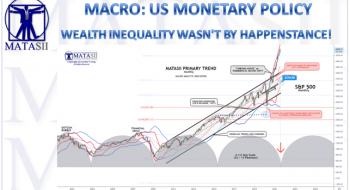 WEALTH INEQUALITY WASN'T BY HAPPENSTANCE!