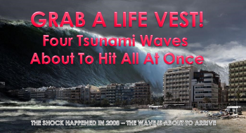 MACRO ANALYTICS  – 09 30 21 –  SEPTEMBER –  Four Tsunami Waves About To Hit At Once