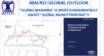 """""""GLOBAL WARMING"""" IS MOST FUNDAMENTALLY ABOUT """"GLOBAL MONEY PRINTING""""!"""